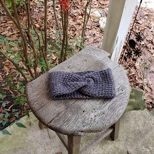 Handmade twist headband/earwarmers
